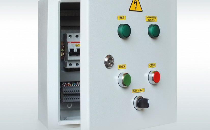 Ящик серии ЯУО 9600 для контроля и регулирования осветительных сетей