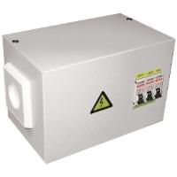 Металлический ящик с трансформатором