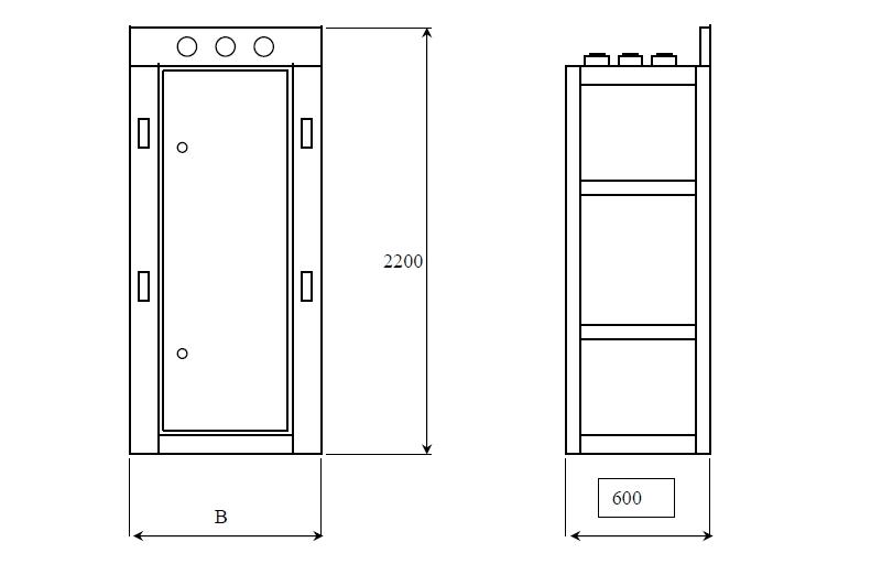 Размеры панелей ЩО-70