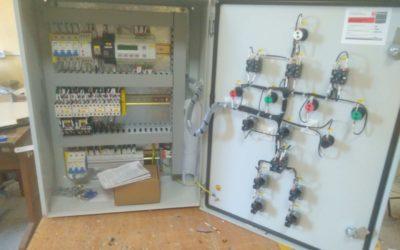 Разработан шкаф управления котельной